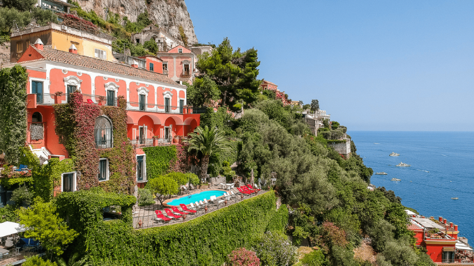 Positano This Wonderful Luxury Villa For Sale Is In A Panoramic Posit...  Show Full Video